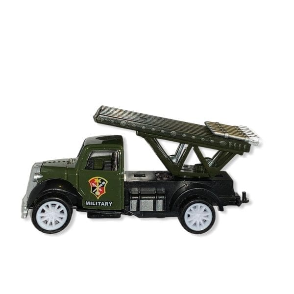 Military Truck Multiple Rockets