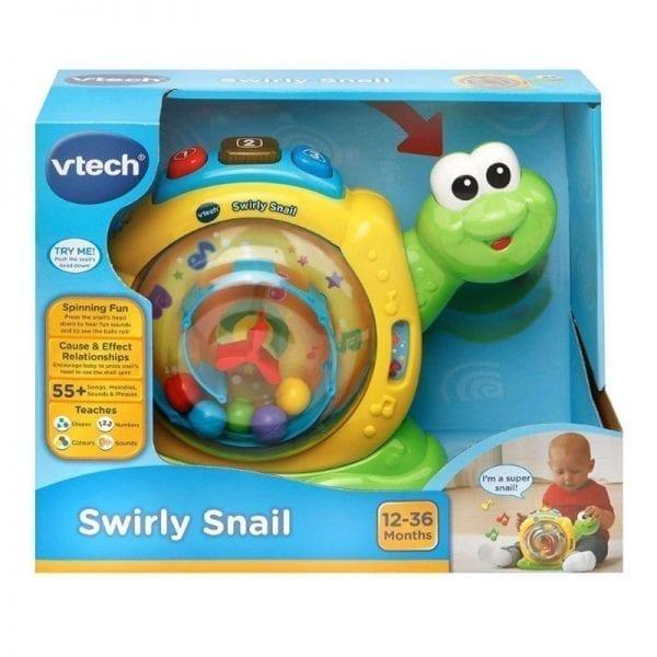 vtech swirly snail