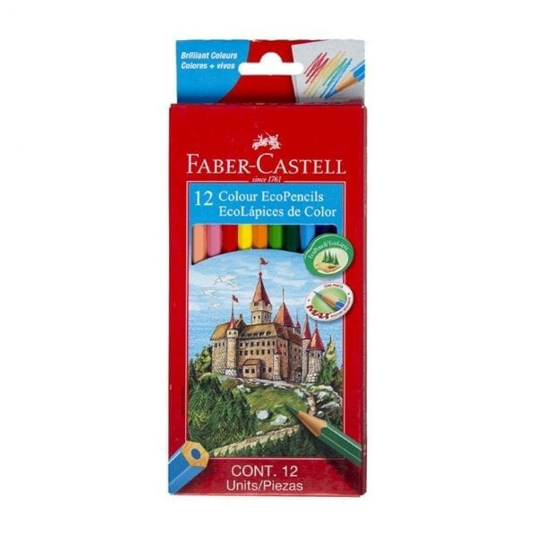 12 Colour EcoPencils (Faber-Castell)