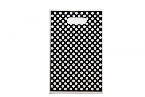 Black Polka Dot Party Loot Bag