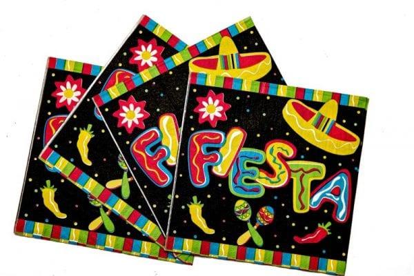 Mexican Fiesta Serviettes