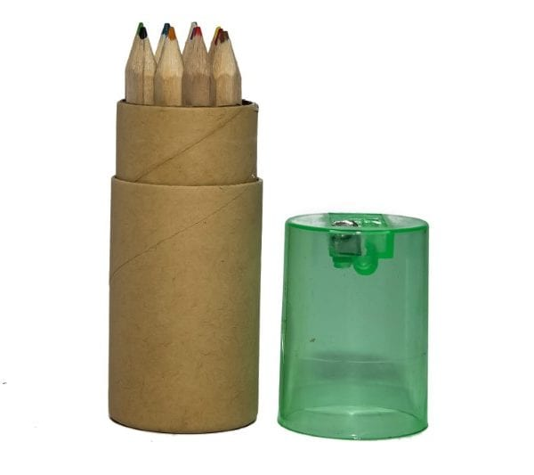 Organic Pencil Holder with Sharpener