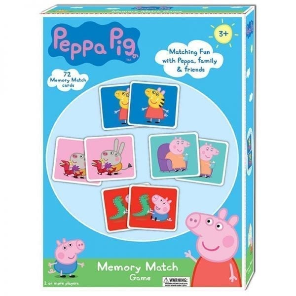 Peppa Pig Animated Memory Match Game