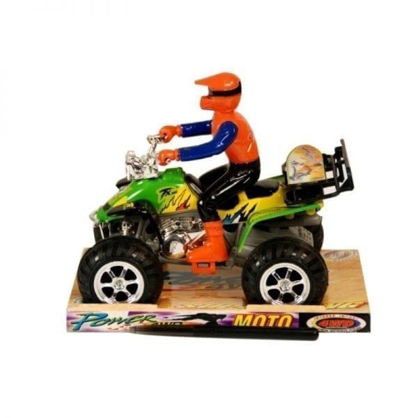 Quadbike And Rider