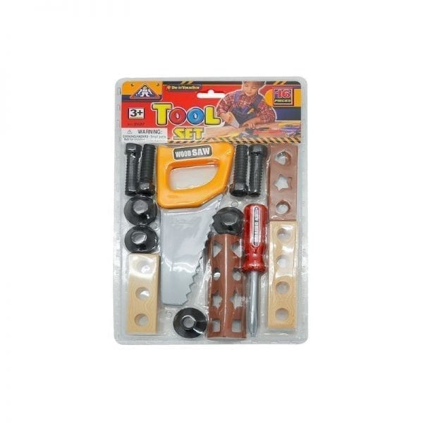 Tool Set In Pvc 16 Piece
