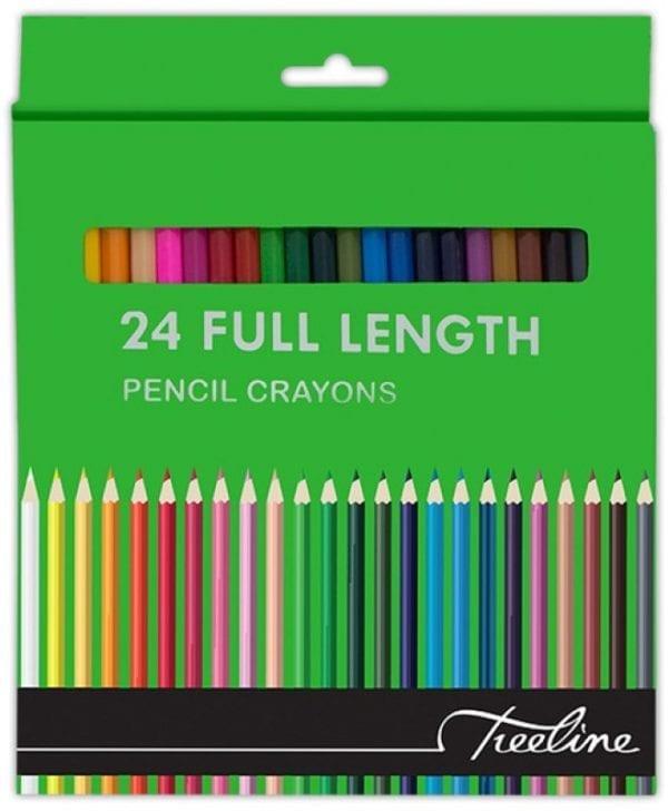 Treeline Pencil Crayons 24's Full Length