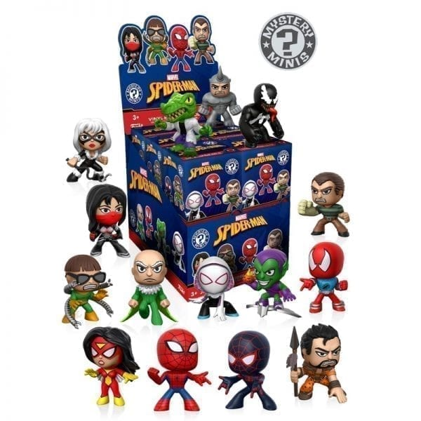 Funko Mystery Mini's Marvel Classic Spiderman