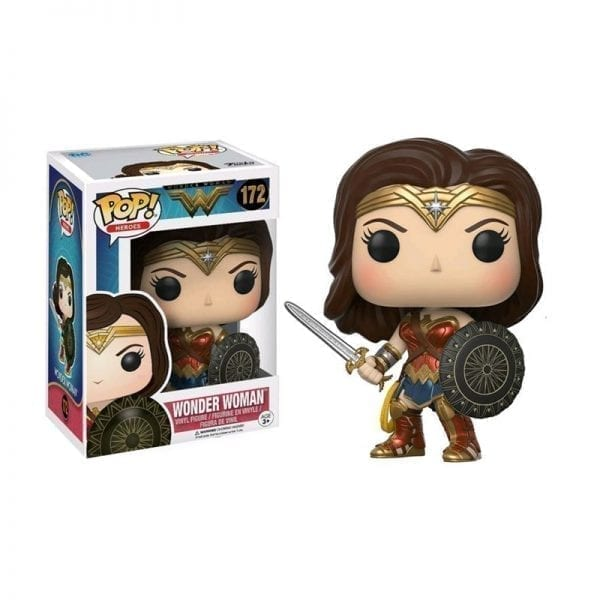 Funko Pop! Heroes DC Wonder Woman - Wonder Woman With Sword & Shield