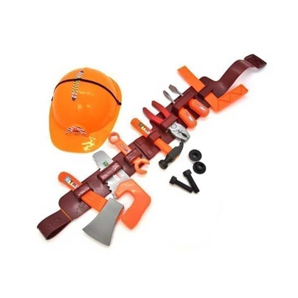 TOOL SET ON BELT & HELMET_picture 1