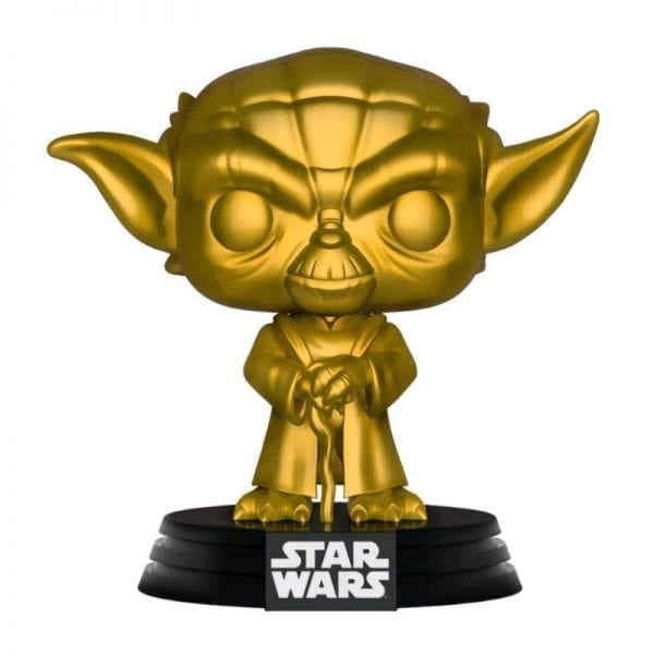 Funko Pop! Star Wars - Yoda Gold Pop