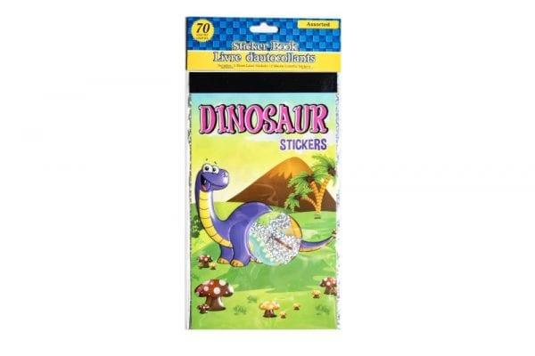 Dinosaur Stickers and Sticker Book