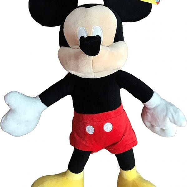 Disney Official Mickey Mouse and Friends Mickey Mouse Plush Toy 20cm