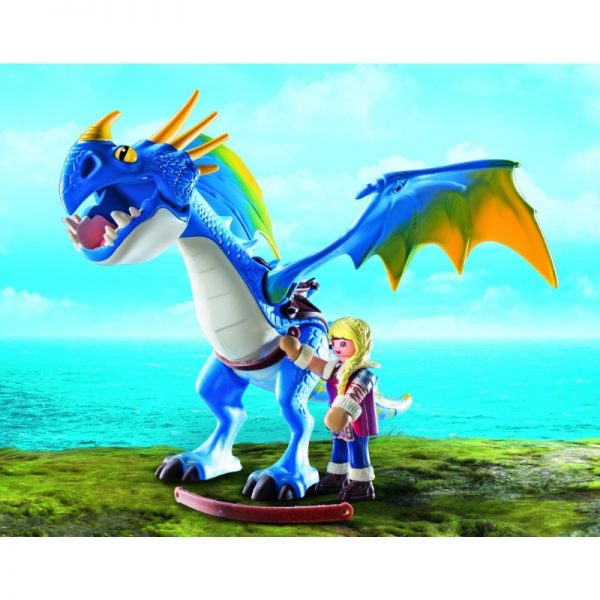 Astrid and Stormfly (Playmobil)