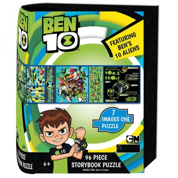 Ben 10 Storybook Puzzle