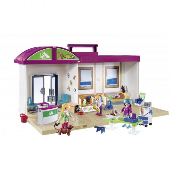 City Life - Take Along Vet Clinic Playset (Playmobil)