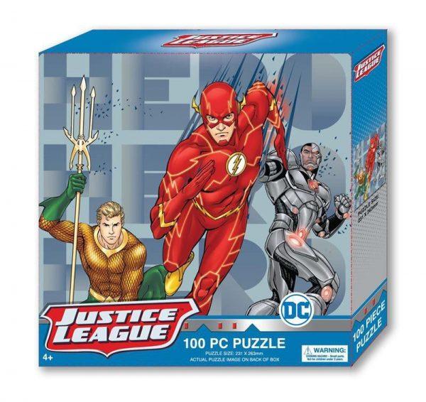 DC Boys Tuck Box Puzzle