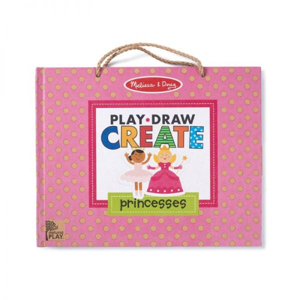 Melissa and Doug Play, Draw, Create - Princesses
