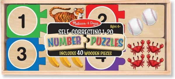 Melissa and Doug Self-Correcting Number Puzzles