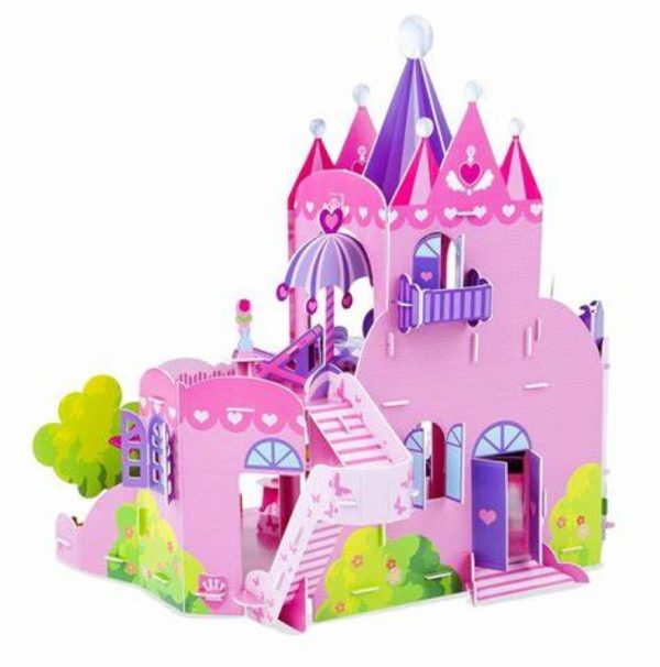 Pink Palace 3D Puzzle (Melissa and Doug)