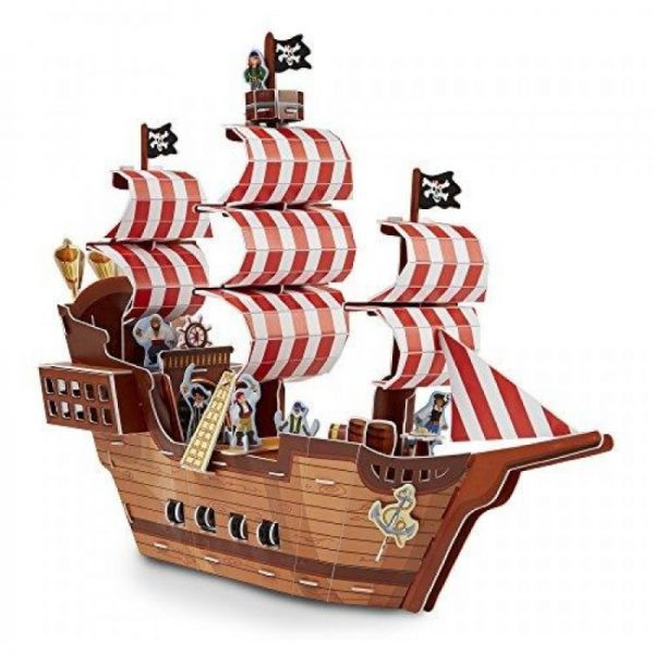 Pirate Ship 3D Puzzle (Melissa and Doug)
