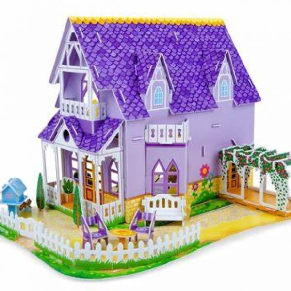 Pretty Purple Dollhouse (Melissa and Doug)