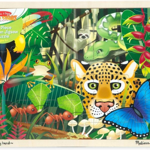 Rainforest Jigsaw Puzzle (48 pieces)